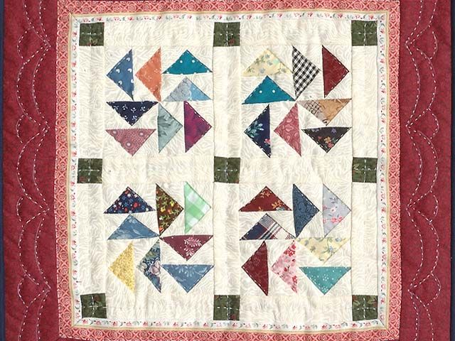 Dutchman Puzzle Quilt Terrific Ably Made Amish Quilts From