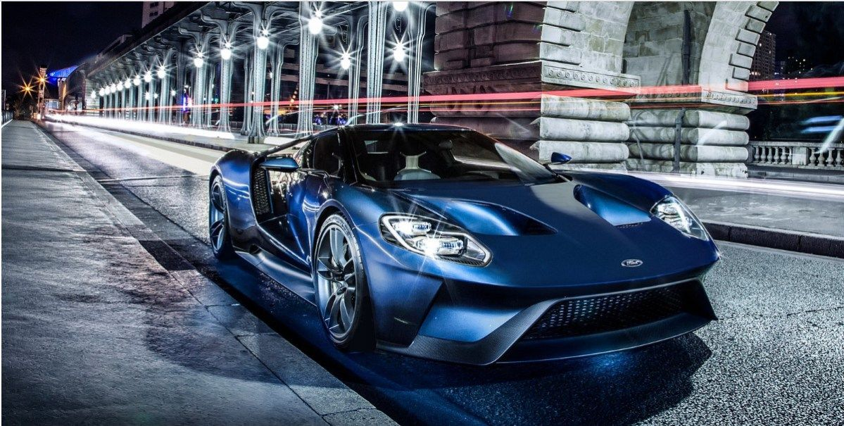 Ford Gt Automatic Release Date Inside The  Detroit Vehicle Show Ford Introduced The Remodeled  Ford Gt Automatic A New Huge Overall