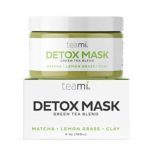 Photo of Teami Green Tea Matcha Detox Face Mask – Deep Pore Cleansing & Hydrating Blackhead Remover Mud Mask with Bentonite Clay, Facial Masks Best for Acne, Blackheads, Wrinkles, Pore Minimizer, Anti Aging – Greentea