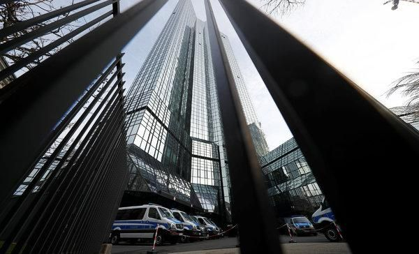 Deutsche Bank Offices Are Searched in Money Laundering