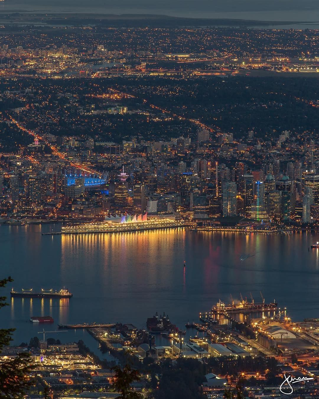 Vancouver Is Awesome On Instagram Views From Grouse Thanks