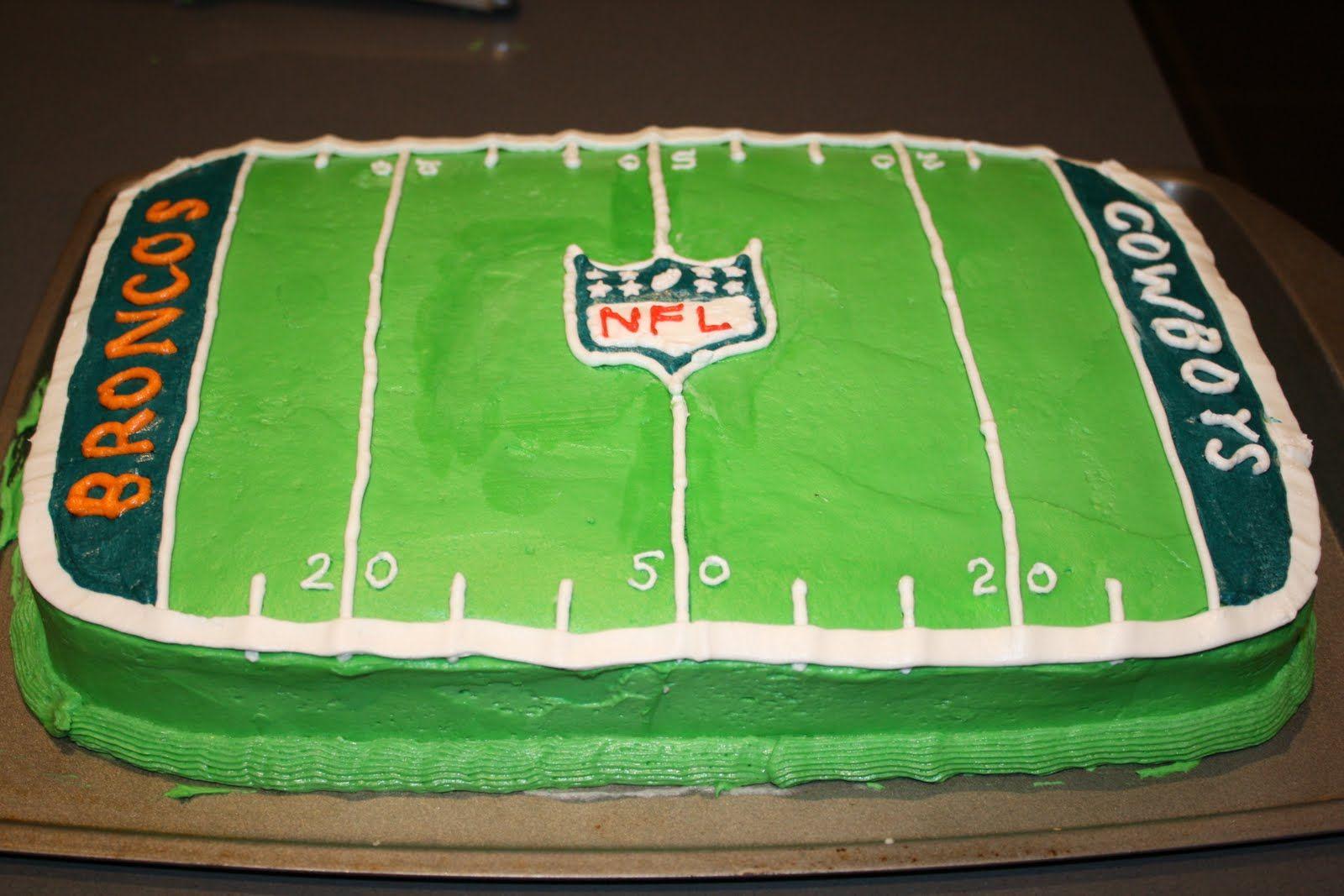 Cake Decorating Football Theme : Football Themed Birthday Cake and Cupcake Decorating Ideas ...