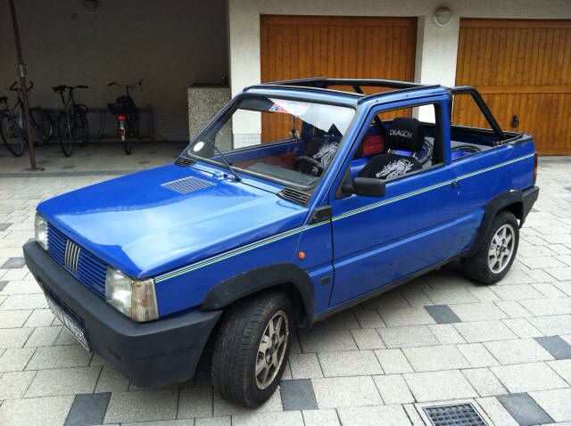 fiat panda cabrio cars from fiat pinterest fiat fiat panda and cars. Black Bedroom Furniture Sets. Home Design Ideas
