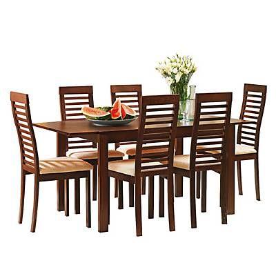 Mica juego de comedor alessi 6 sillas stools dining and for Juego de comedor redondo 4 sillas