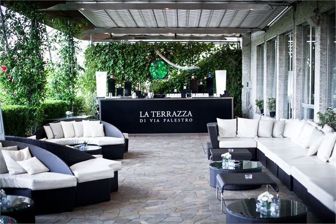 La terrazza di via palestro milano bar restaurant milan italy