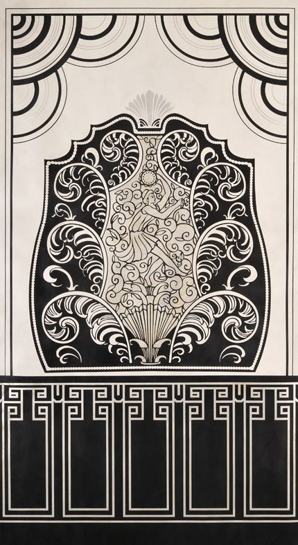 art deco stencils | Graffik inspirations | Pinterest | Art deco ...