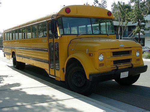 Superior School Bus With Images School Bus Bus Retro Bus
