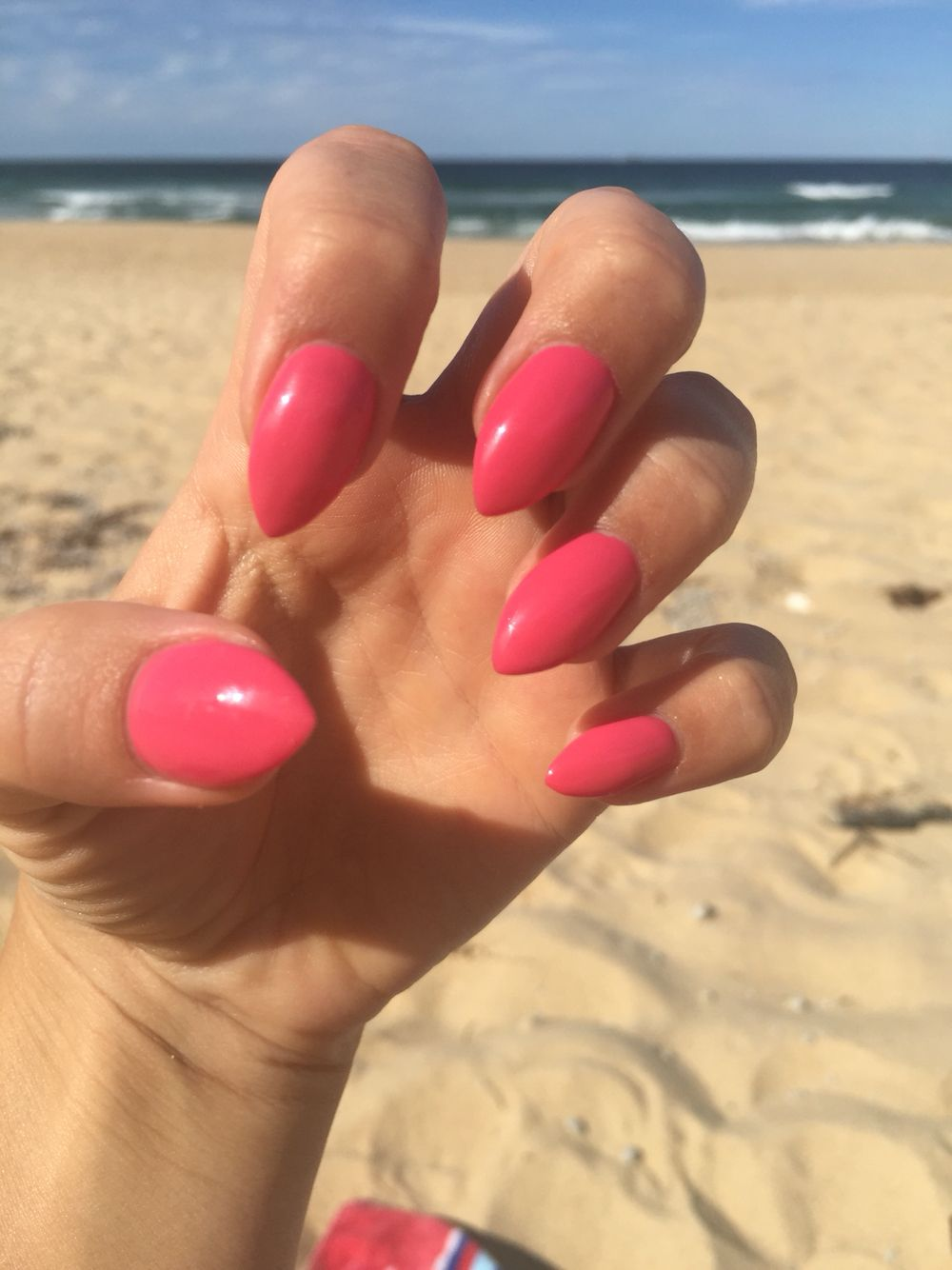 Beautiful Pink acrylic nails | Pink acrylics, Beautiful