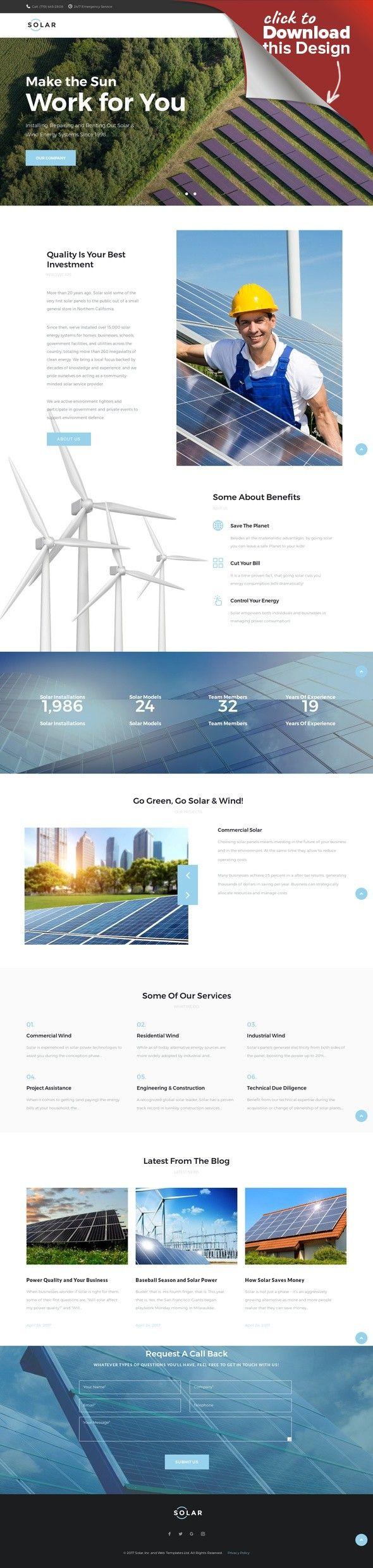 Template Wordpress Responsive 65623 Per Un Sito Di Energia Solare Modelli Cms E Blog Temi Wordpress Template Business E Tema De Wordpress Energia Solar Tema