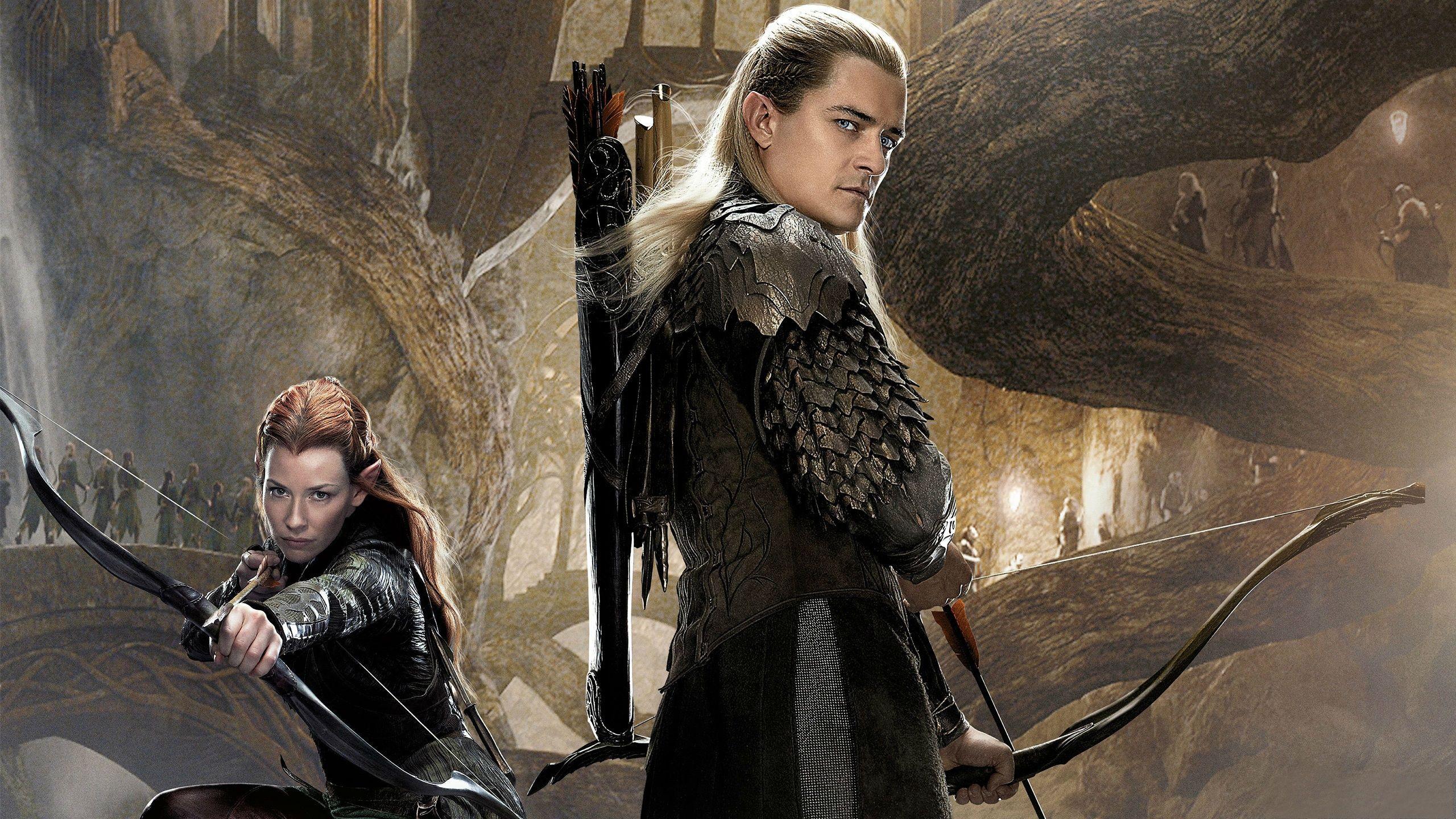 The Hobbit 2 Legolas And Tauriel
