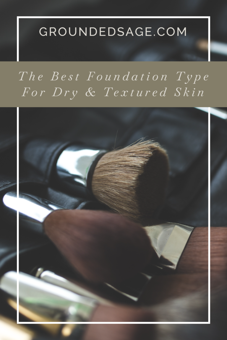 Foundation for dry & textured skin / makeup guide / powder
