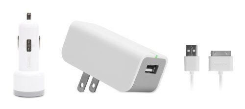 White Griffin PowerJolt Auto Charger for iPod