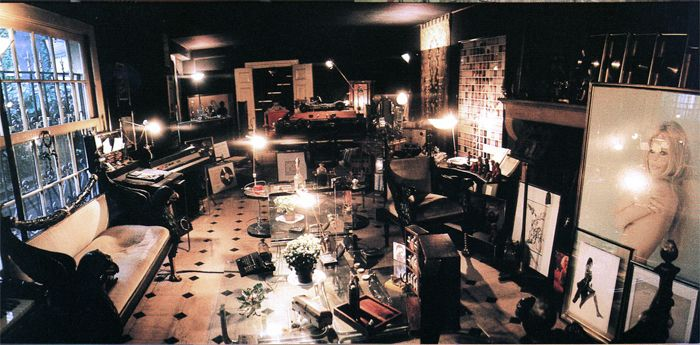 Maison Serge Gainsbourg Interieur