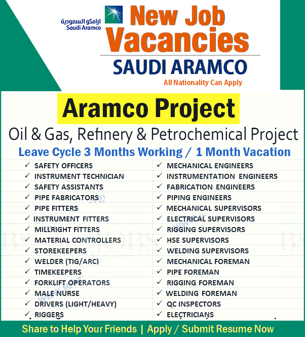 Current Job Opportunities In Saudi Aramco Apply Now Current Job Job Opportunities Mechanical Engineering Jobs