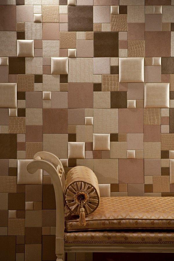 ESSENTIA--CHAMPAGNE-TWIST (azulejos de cuero) Tratamiento de