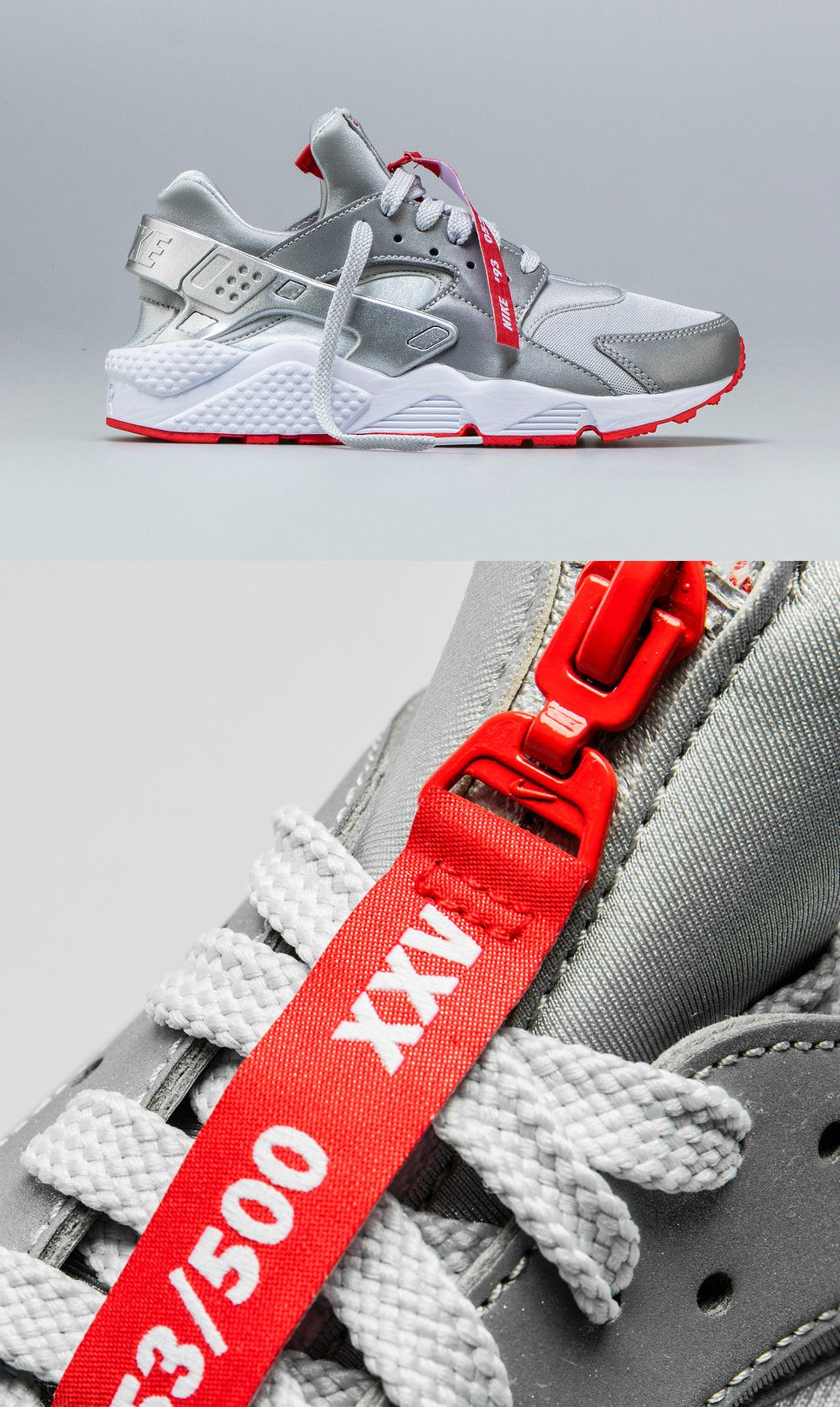 online retailer 42f77 24a4b Shoe Palace Exclusive 25th Anniversary Nike Air Huarache Zip