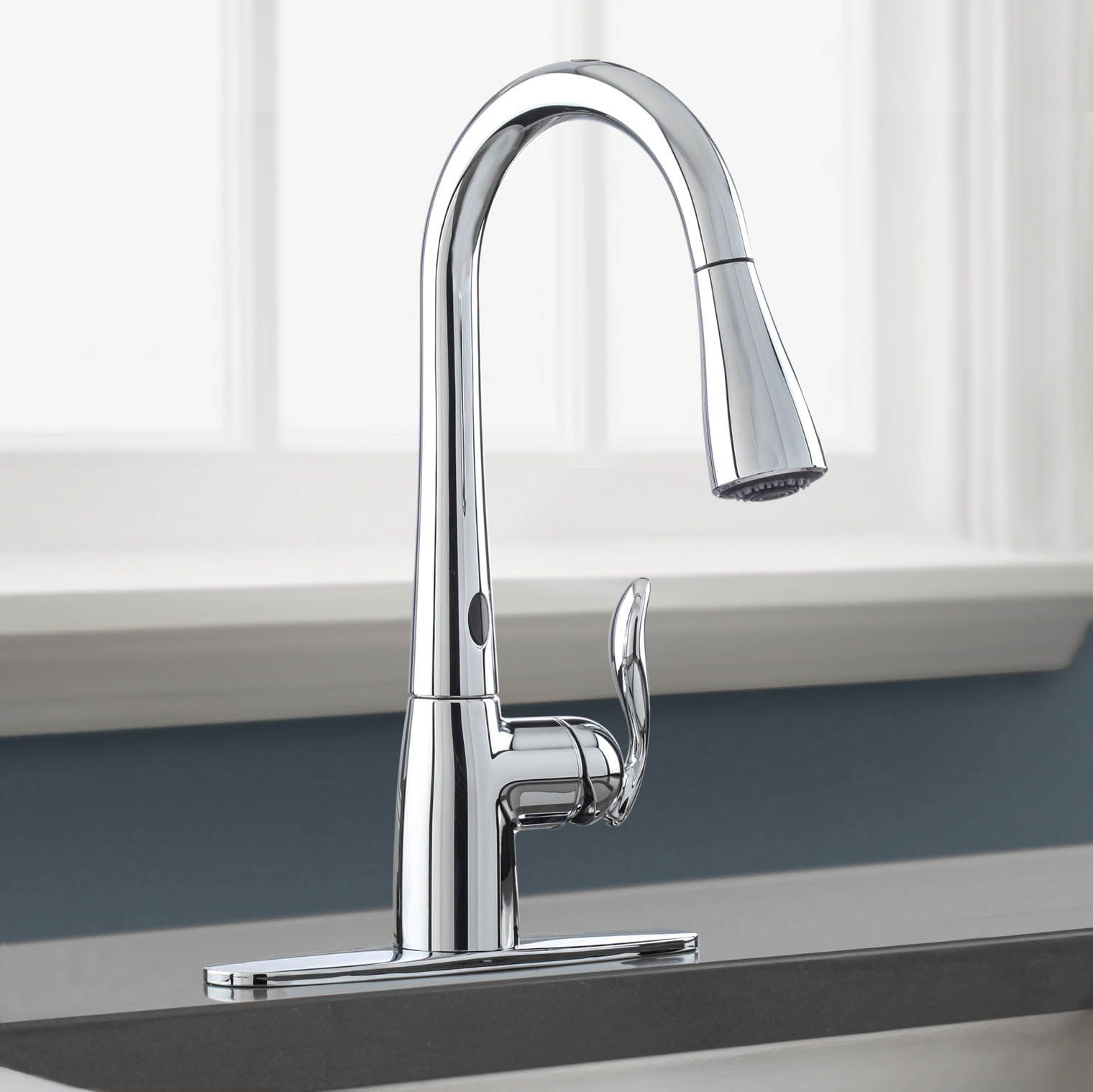 Motion sense faucets for the kitchen are so useful. The Moen Arbor ...