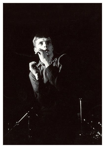 IAN CURTIS (Joy Division) [1979; Manchester | ©KevinCummins]