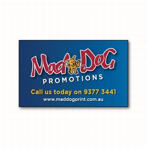 Custom printed promotional stickers use full colour personalised stickers to effectively promote your business
