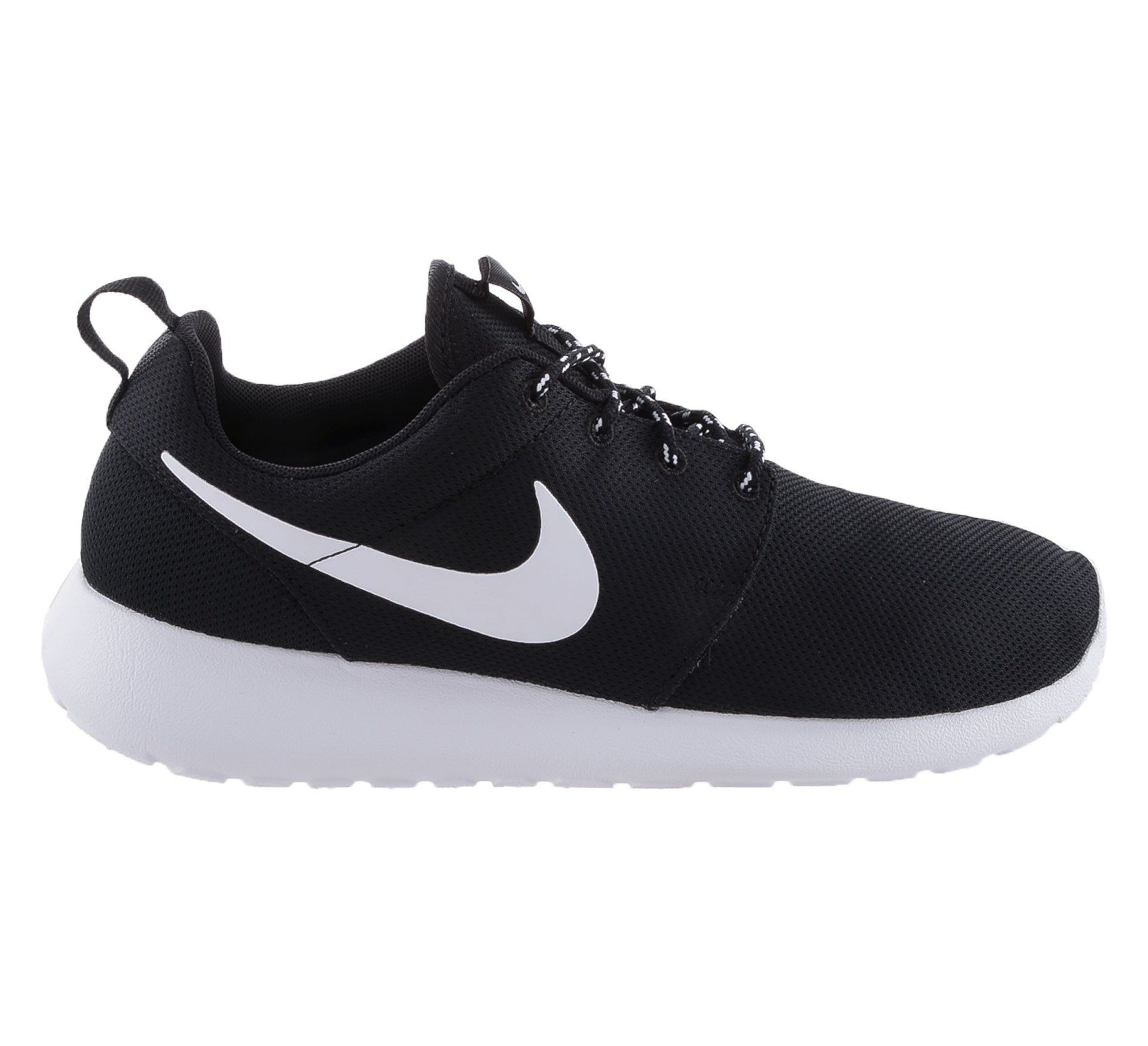 superior quality 5edb7 abf16 Nike Roshe Run Sneakers Dames Zwart Wit Online Kopen,HOT SALE!