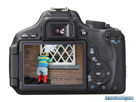 Test Canon 600d
