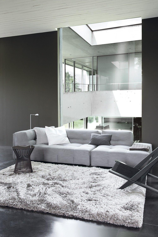 Beige, 140x200 cm HUAFA Tapis pour Le Salon Moderne Tapis Shaggy/Tapis dint/érieur Moelleux Moelleux Ultra Doux Tapis de Chambre