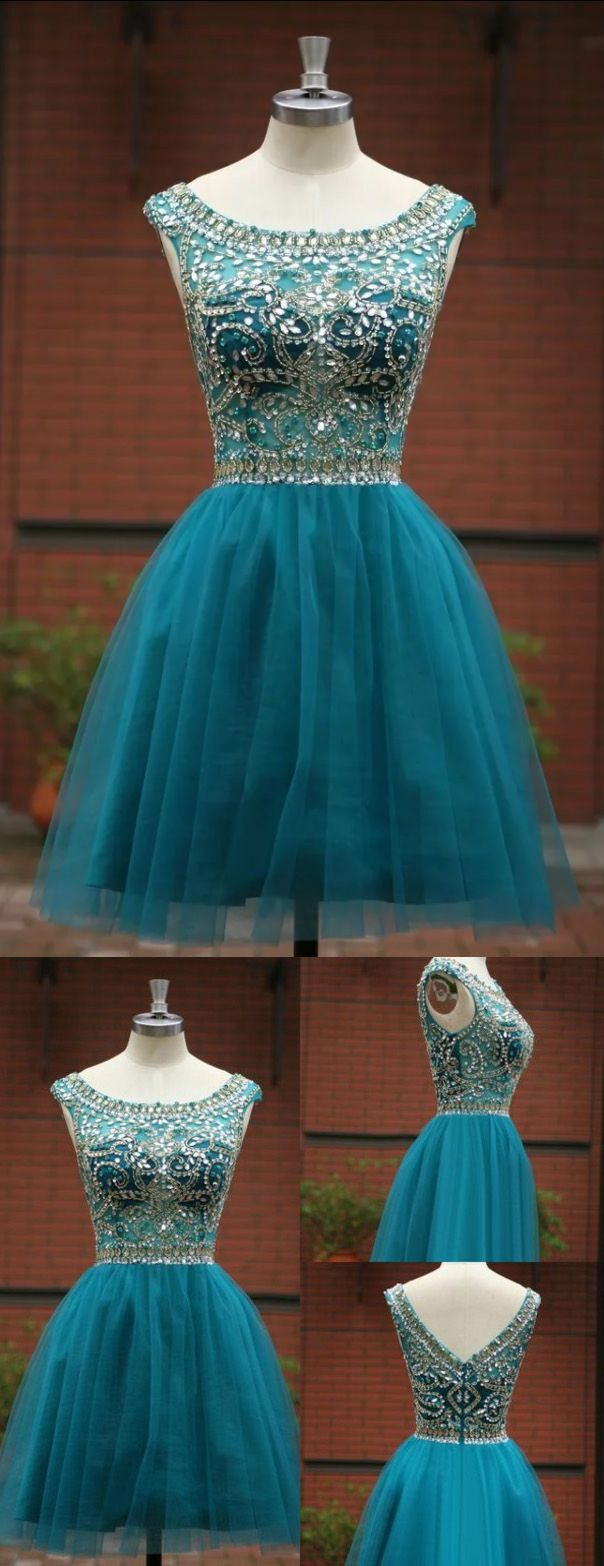 Blue homecoming dressshort prom gowntulle homecoming gowns
