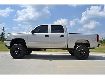 2006 Chevrolet Silverado 1500 Crew Cab Lt 4x4 Lifted Wheels Us