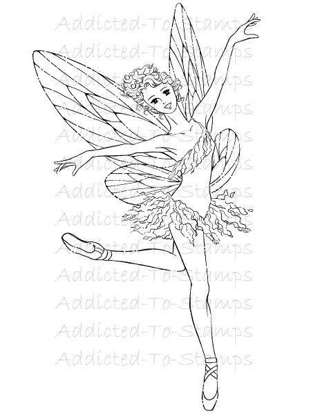 Mitzi SatoWiuff Fairy Dance Digi Doodle By Digidoodlestampart 399