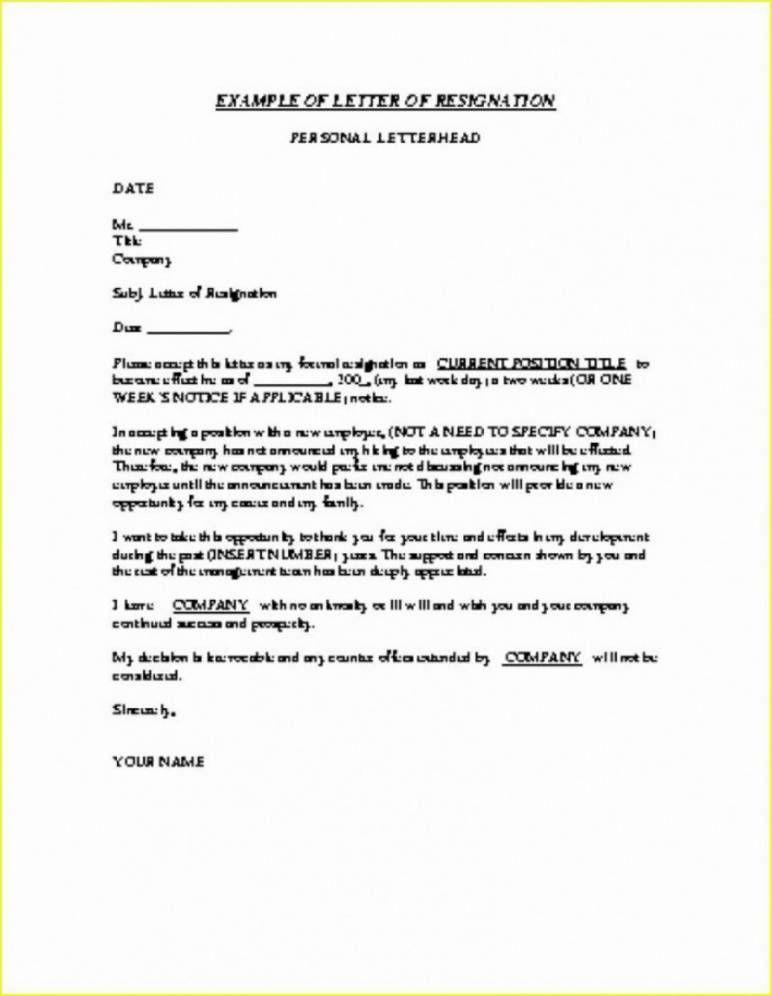Letter Of Resignation TeacherWriting A Letter Of