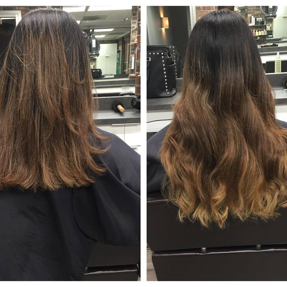 Create Custom Damage Free Ombre Hair Color In Minutes With Tape In