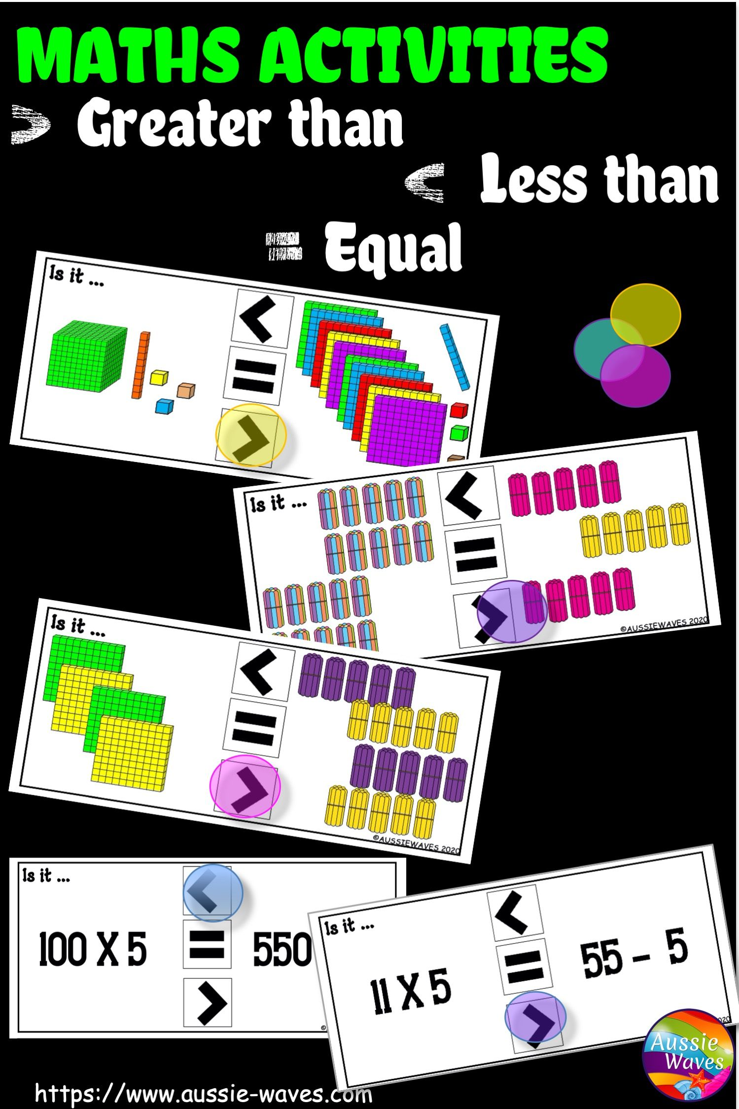 Maths Activities For Greater Than Less Than In