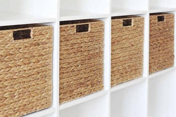 Ikea Kallax Expedit Rack Basket 34 X 32 X 32 Cm From Water