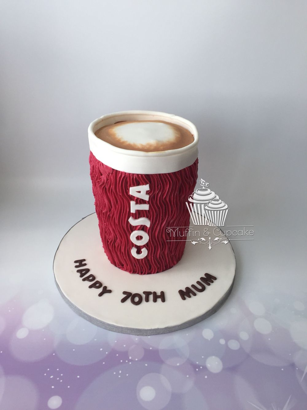 Costa Coffee Cup Cake Birthday Cakes Ideas