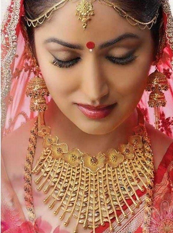Modern Style Gold Jewllery Designs 201516 for Bridals fashion