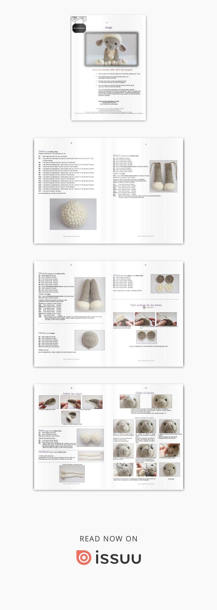 Amigurumi oveja | amigurumi | Pinterest | Amigurumi, Ganchillo y Croché