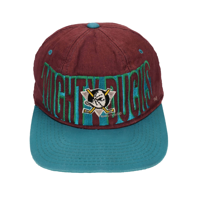 ab200dca5cedb7 ... vintage 90s mighty duck snapback cap hat