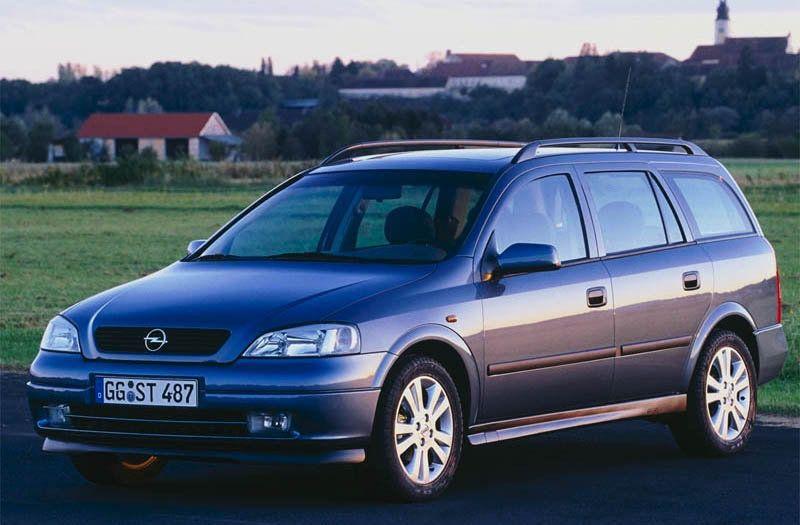 Opel Astra Stationwagon Autos Rurales