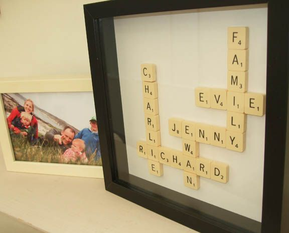 family wall art | Craft/ Project Ideas | Pinterest | Family wall art ...