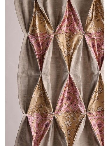 top of a curtain panel