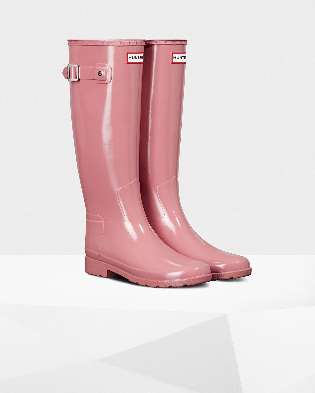 Hunter Original gloss in 2020 | Boots, Rain boots, Rubber