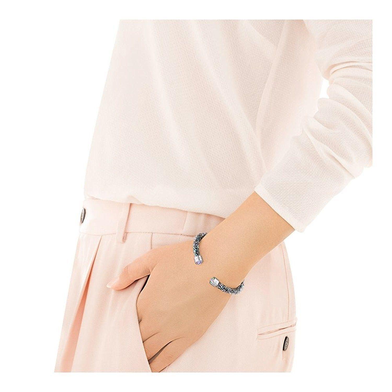 944592a5dfc Swarovski CrystalDust Cuff Bracelet Color: Multi-Color Size: Medium-  5.8/1.5cm Item number: 5273639 New in original box