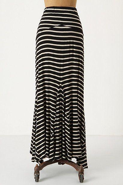 Love the striped maxi!