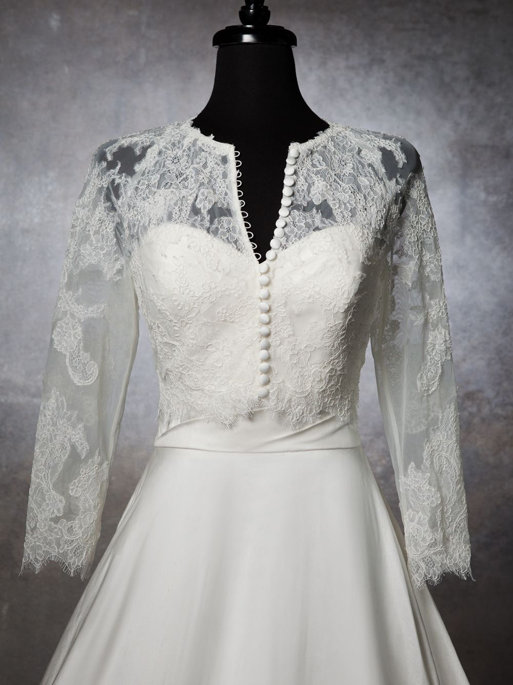 Justin alexander wedding accessories style a chantilly lace