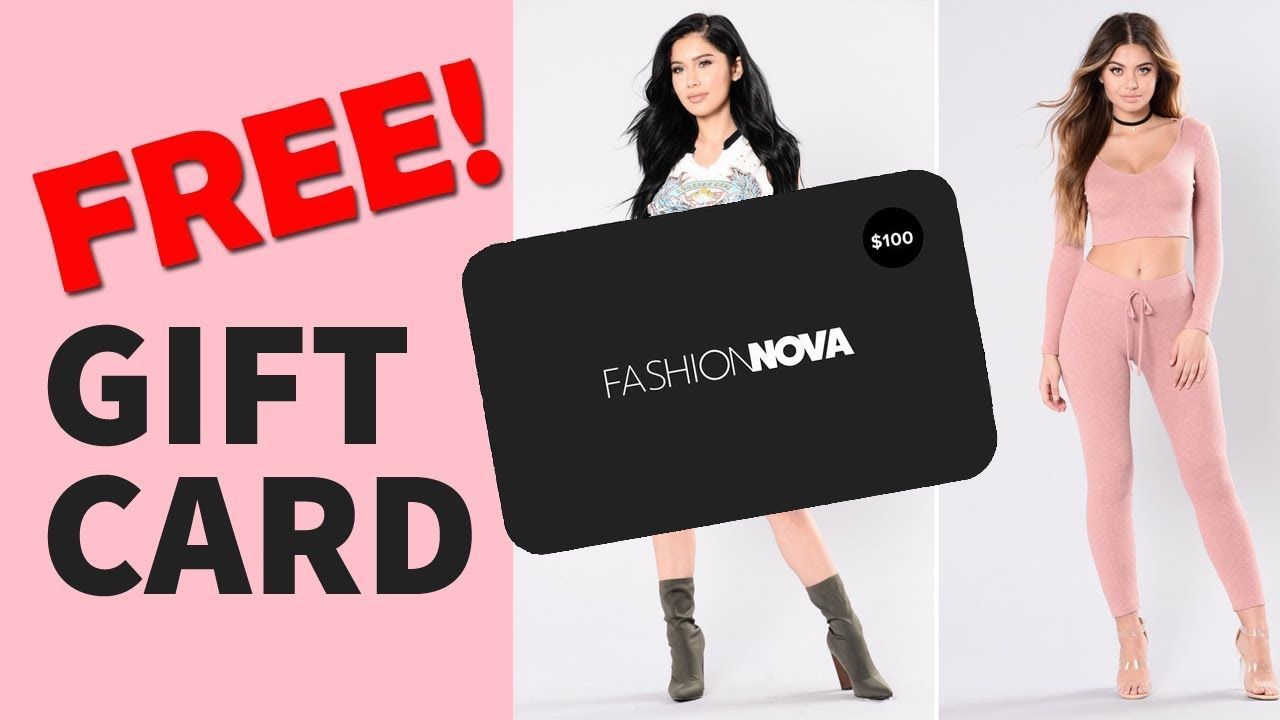 Get 100 fashionnova giftcard codes free with images
