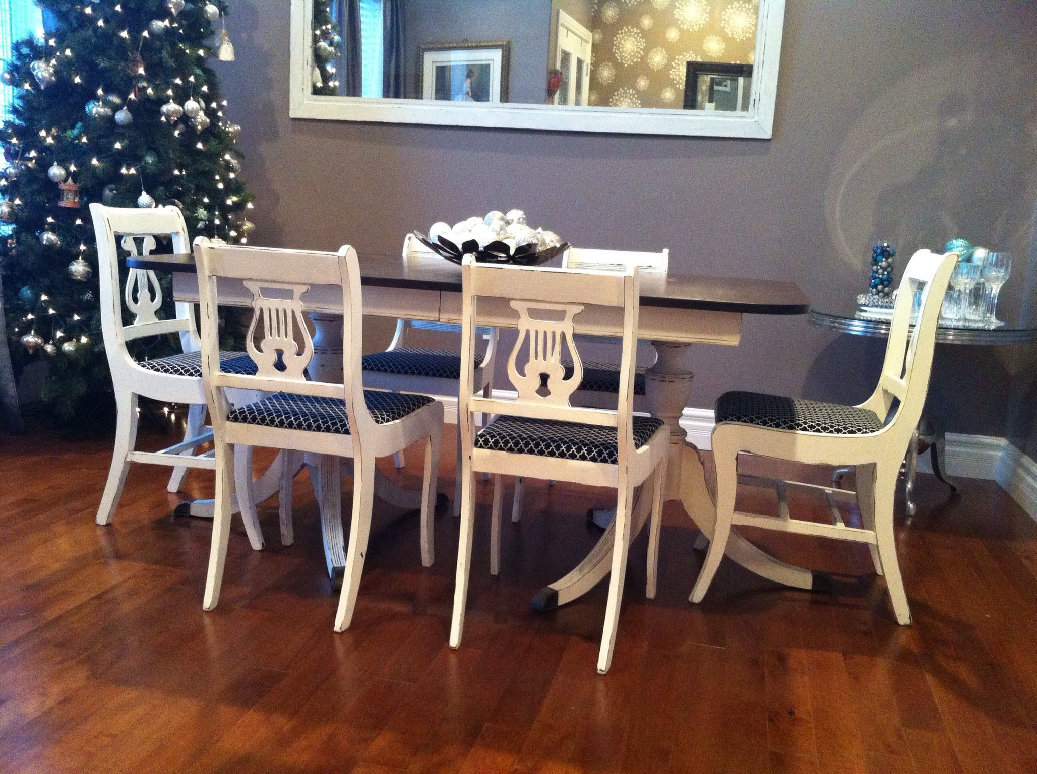 Duncan Phyfe Table U0026 6 Chairs By Thistle Thatch Designs