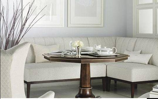Channel Banquette City Living Design Dining Furniture Makeover