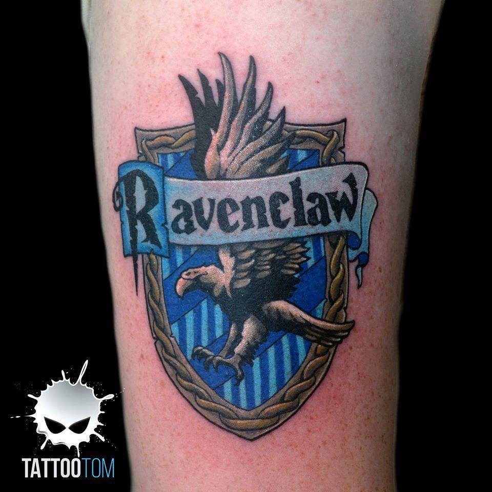 Ravenclaw Badge Leg Tattoos Geek Tattoo Ravenclaw Tattoo