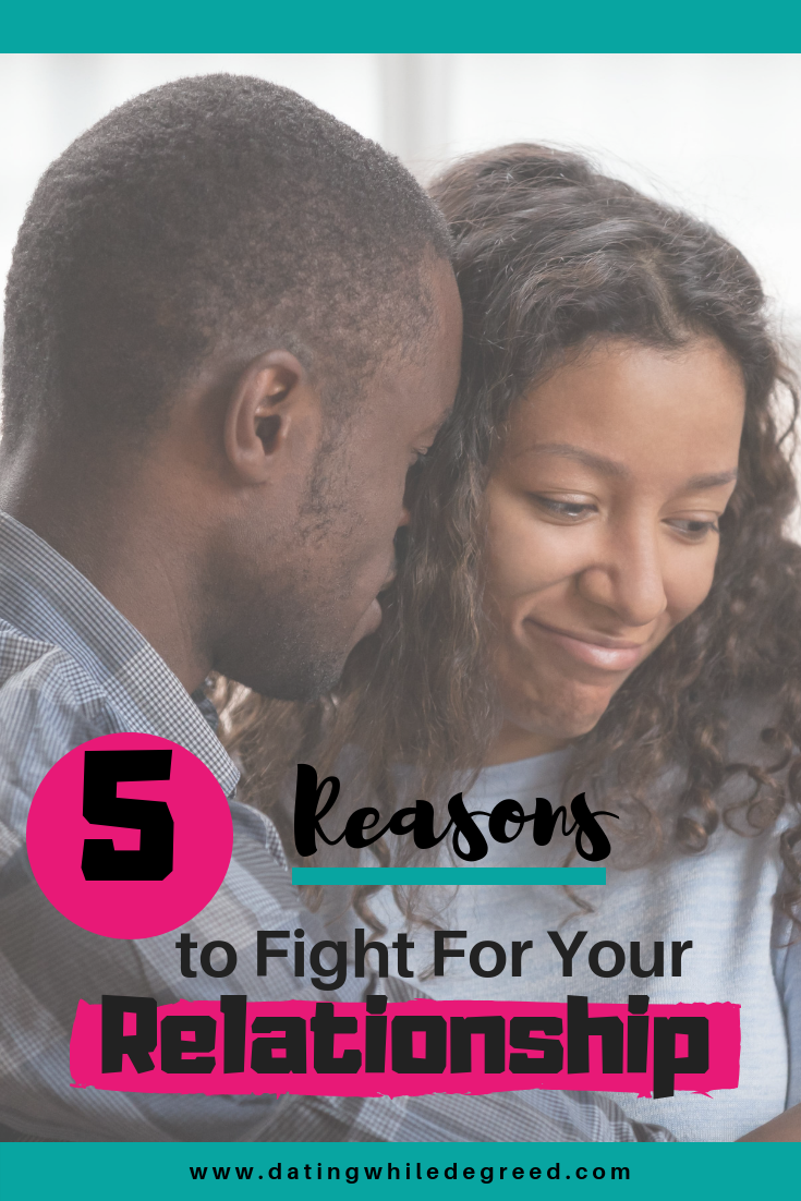 fight while dating