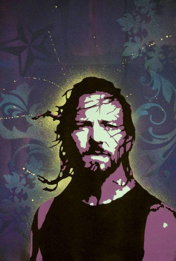 Eddie Vedder Rock Arte Ed Vedder Colorir